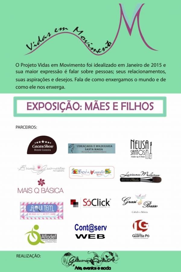 """Exposição """"Vidas em Movimento – Mães e Filhos"""", da fotógrafa Bruna Guimarães"""