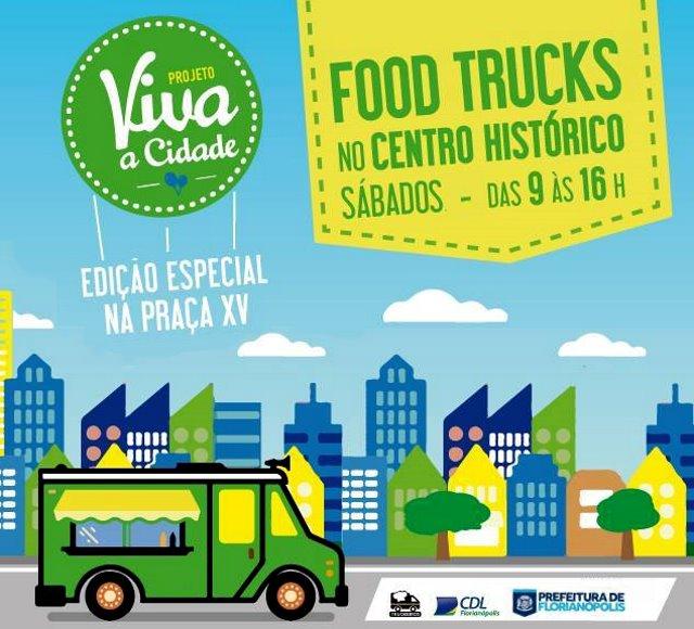 Food Truck no Viva a Cidade
