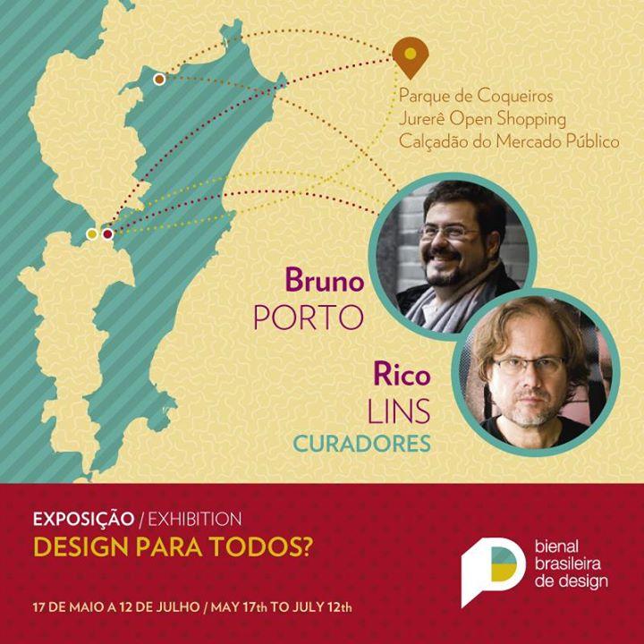 """Mostra de cartazes """"Design para todos?"""" - Bienal Brasileira de Design"""
