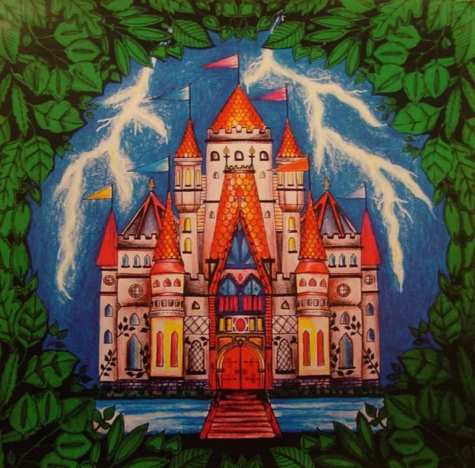 Exposição de pinturas do livro Floresta Encantada de Sandra Betinassi