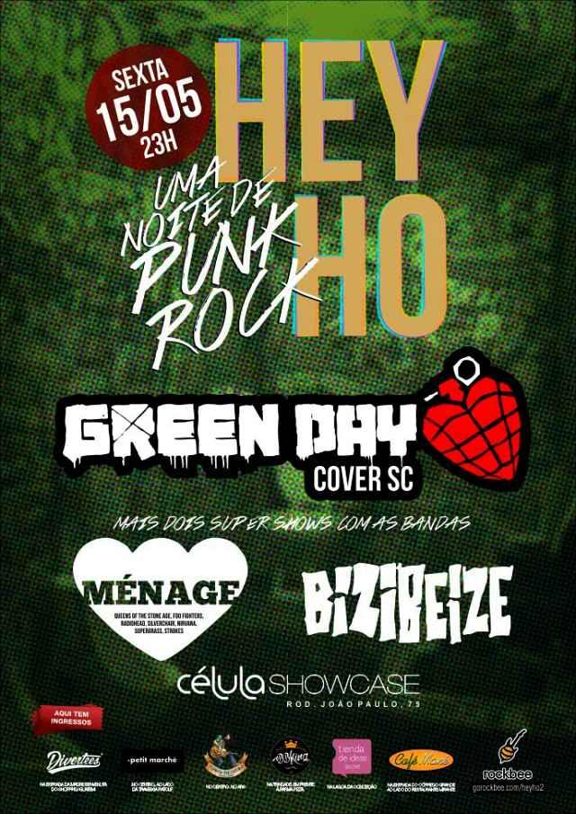 HEY HO #2 - Uma noite de Punk Rock