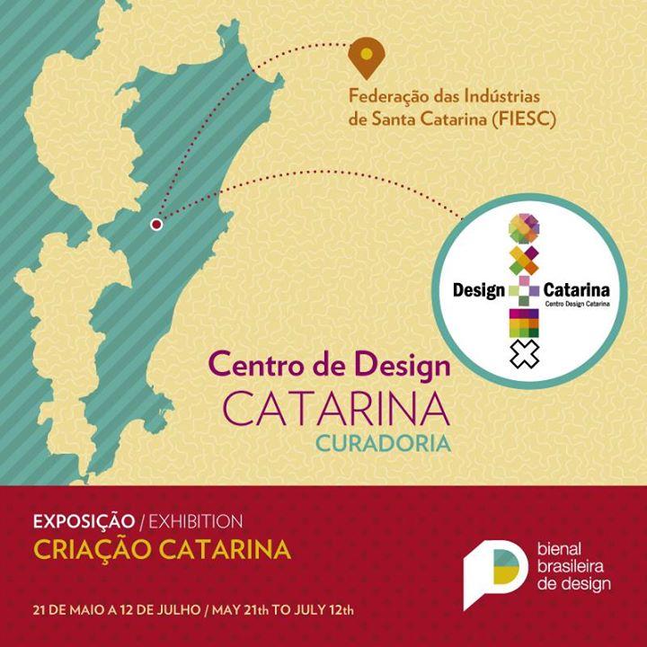 Exposição Criação Catarina - Bienal Brasileira de Design