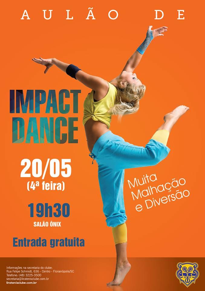 Aulão gratuito de Impact Dance