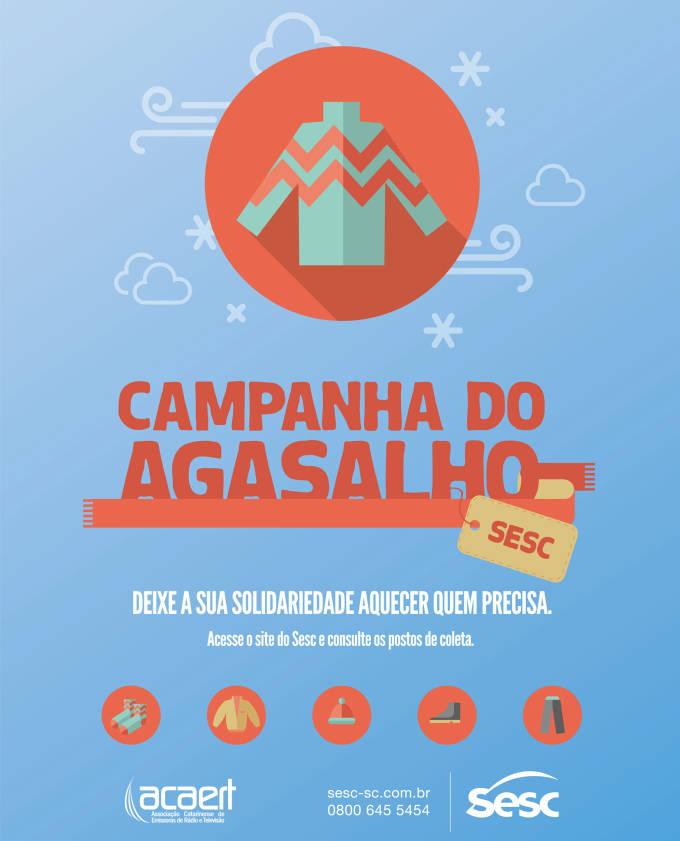 Sesc lança Campanha do Agasalho 2015