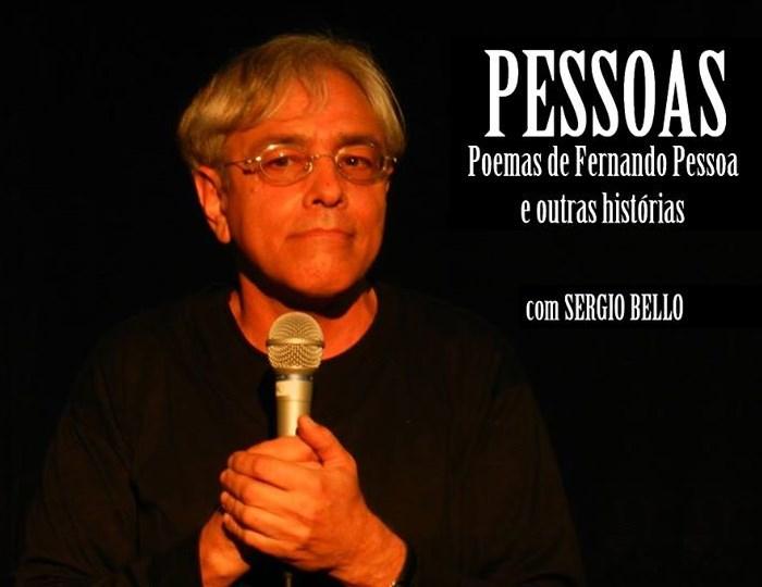 """Baú de Histórias apresenta o espetáculo """"Pessoas"""", de Sérgio Bello"""