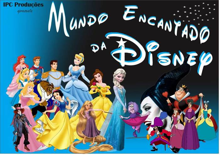"""Espetáculo musical """"Mundo Encantado Disney"""""""