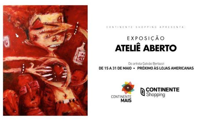 """Exposição """"Ateliê aberto"""", do artista gráfico Galvão Bertazzi"""
