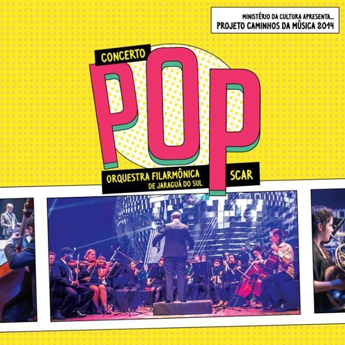 Concerto POP – Orquestra Filarmônica da Sociedade Cultura Artística de Jaraguá do Sul