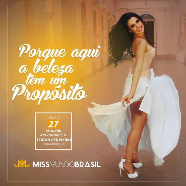 Miss Mundo Brasil e Mister Brasil - Concurso Nacional de Beleza 2015