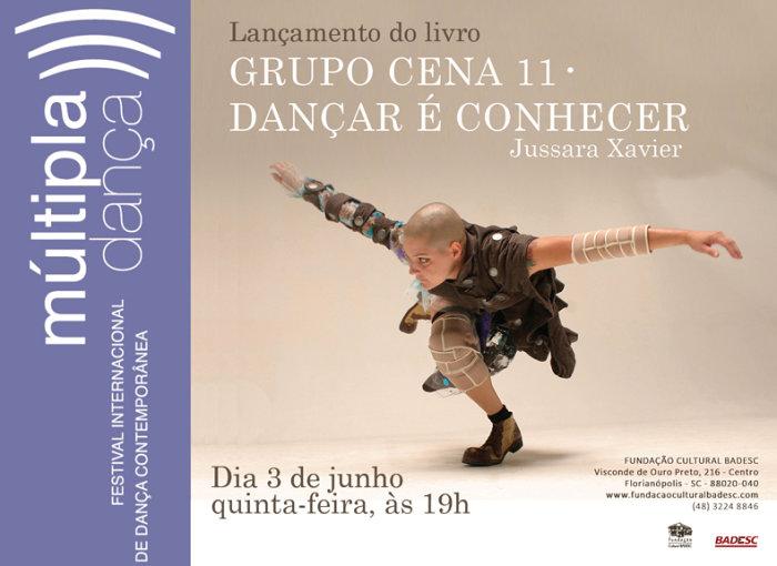 Lançamento de livros e homenagem - 8º Múltipla Dança