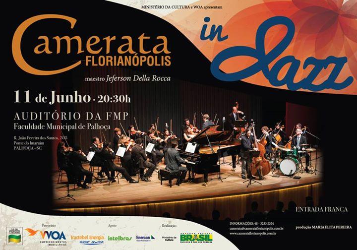 Camerata in Jazz - Concertos nas Comunidades 2015