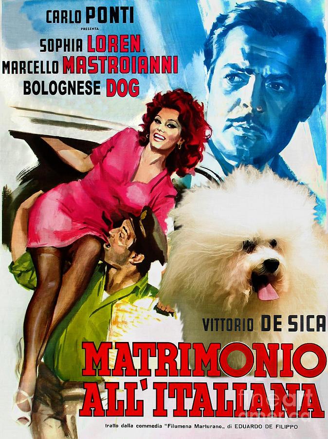 "Cineclube Badesc exibe ""Matrimônio à italiana"", de Vitorio de Sica"