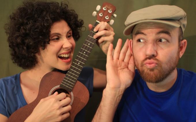 """Espetáculo de música, bonecos e contação de histórias """"Fabulário Cantado"""" da Cia. Mafagafos"""