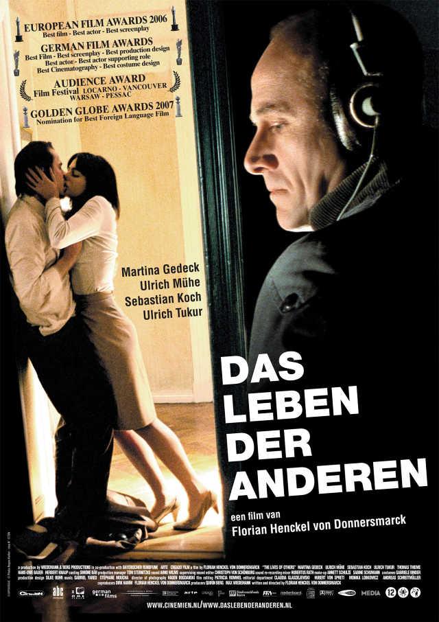 """Cineclube Badesc exibe """"A vida dos outros"""" (Das Leben der Anderen)"""