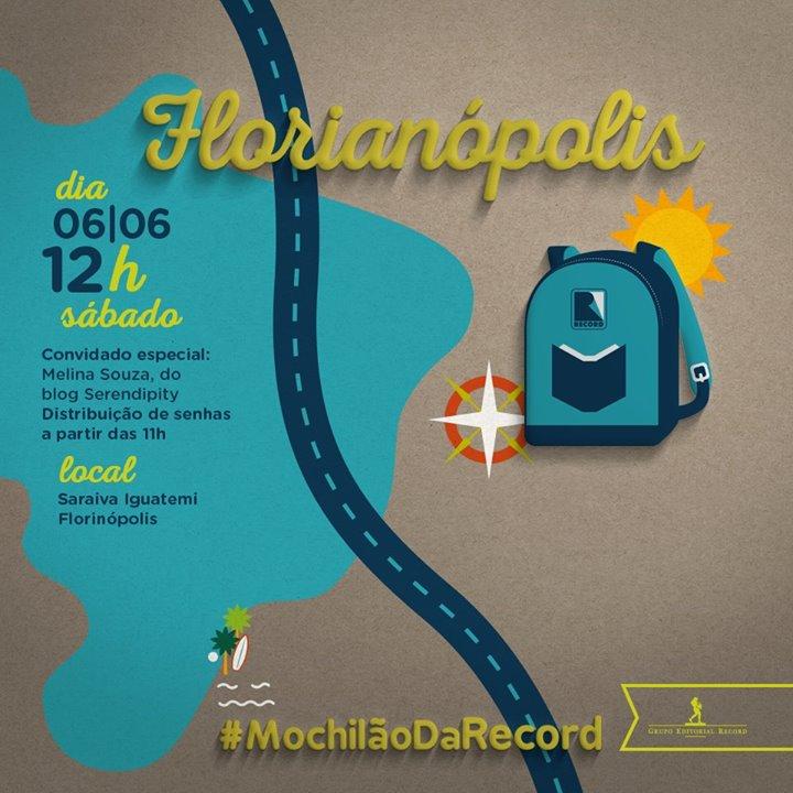 #MochilãoDaRecord