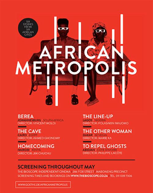 """Cineclube Badesc exibe """"African Metropolis"""" - curtas metragens de vários países"""