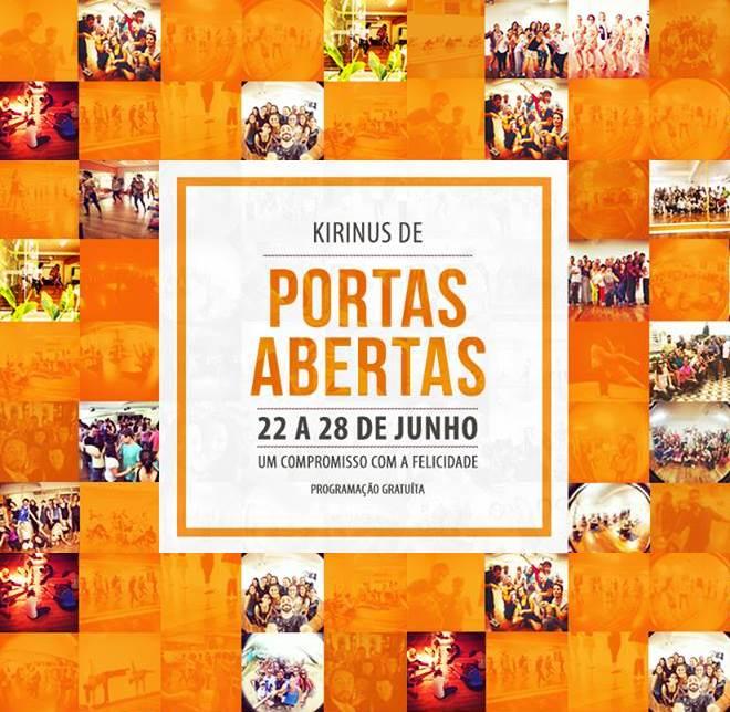 Kirinus de Portas Abertas - semana da programação gratuita