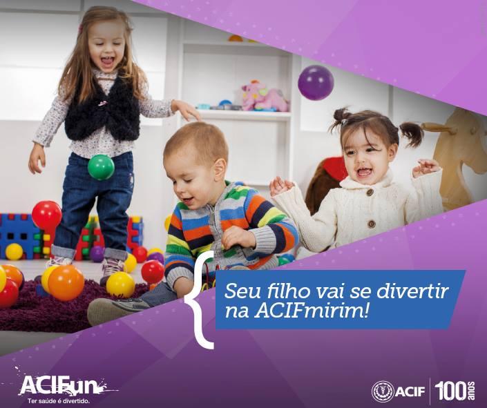 ACIF Mirim promove ações especiais voltadas às crianças