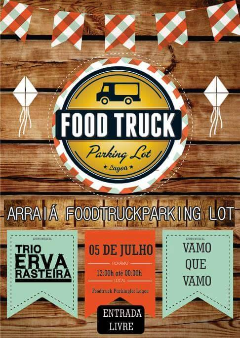 Arraiá Food Truck Parking Lot