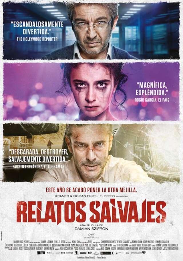 """Cine y Charla"" exibe ""Relatos selvagens"" (2014)"