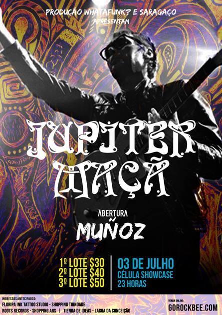 Show de Júpiter Maçã em Floripa