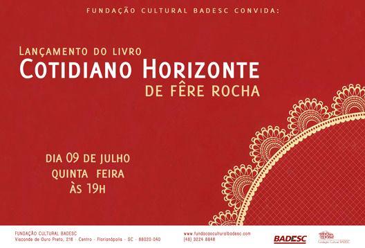 Sarau literário musical com lançamento do livro da poeta Fêre Rocha