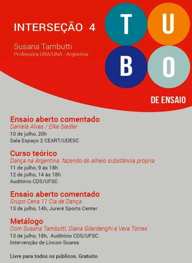 Dança contemporânea latino-americana é tema do projeto Tubo de Ensaio