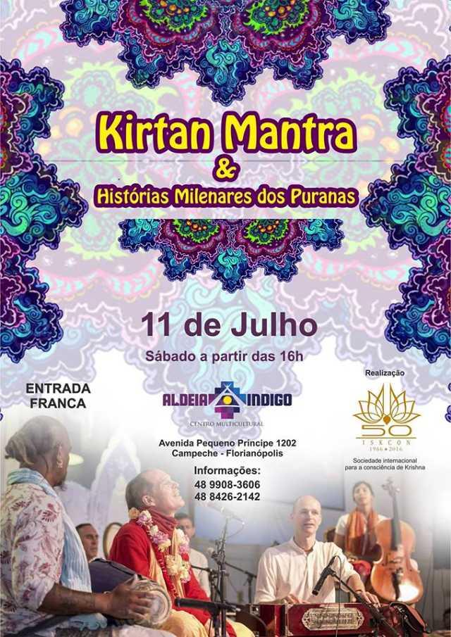 Kirtan Mantra e Histórias Milenares dos Puranas