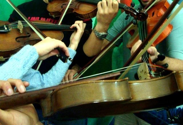 Concerto de encerramento do semestre do Coral, do Madrigal e da Orquestra de Câmara da UFSC