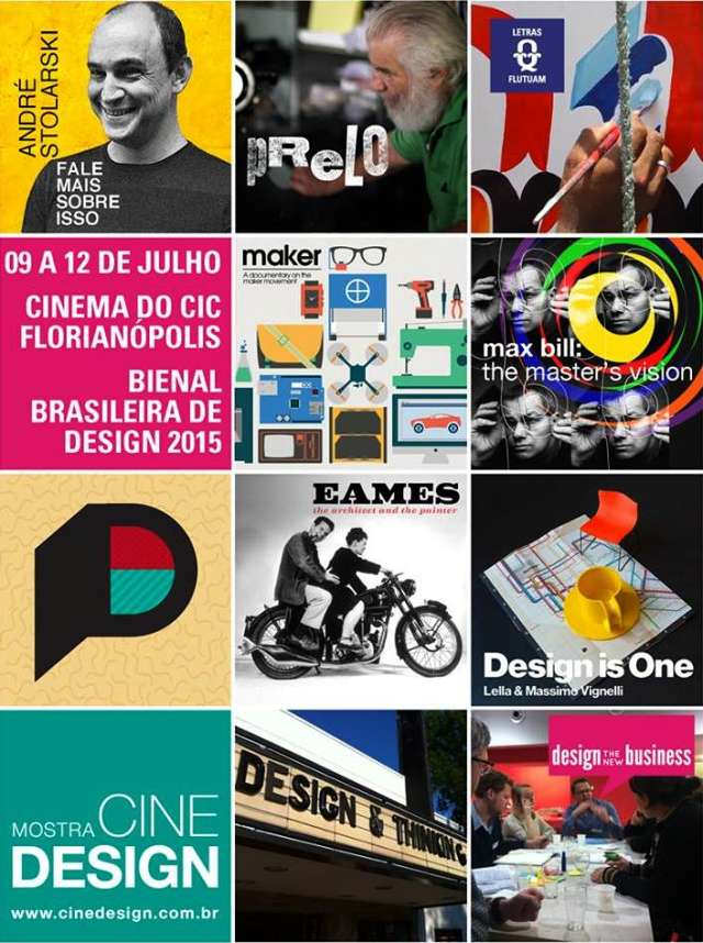2ª edição da Mostra Cine Design encerra Bienal Brasileira de Design