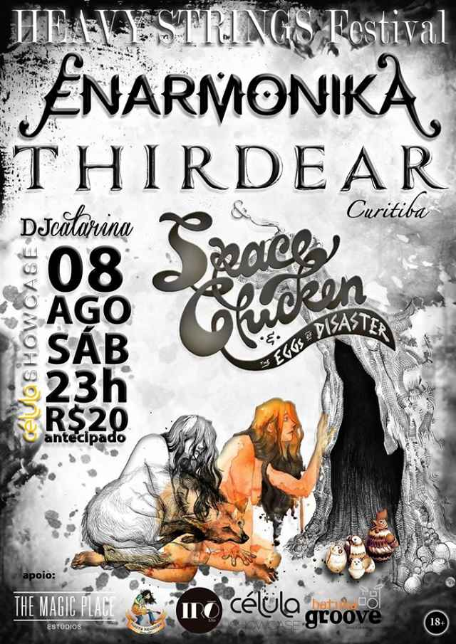 HEAVY STRINGS Festival - Enarmonika, ThirdEar e Space Chicken