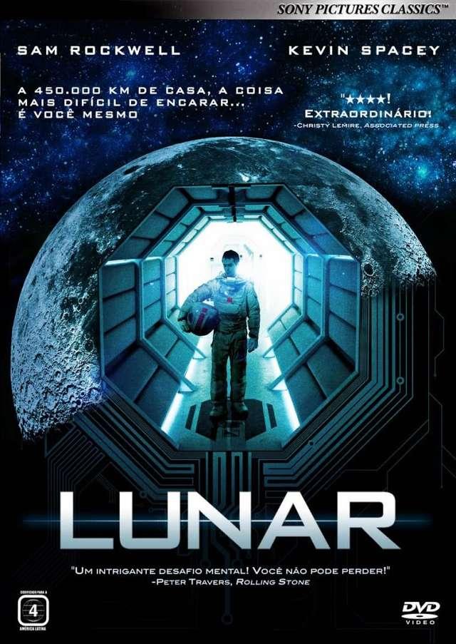 """Cine Paredão apresenta """"Lunar"""" (Moon, 2009) e sorteia livro de Shakespeare"""