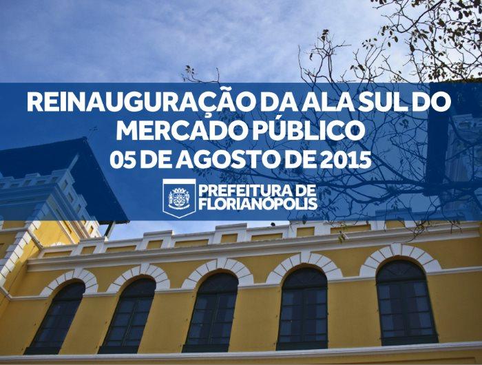 Festa de inauguração do Mercado Público de Florianópolis