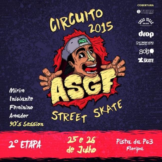 2ª Etapa do Circuito ASGF de Street Skate 2015