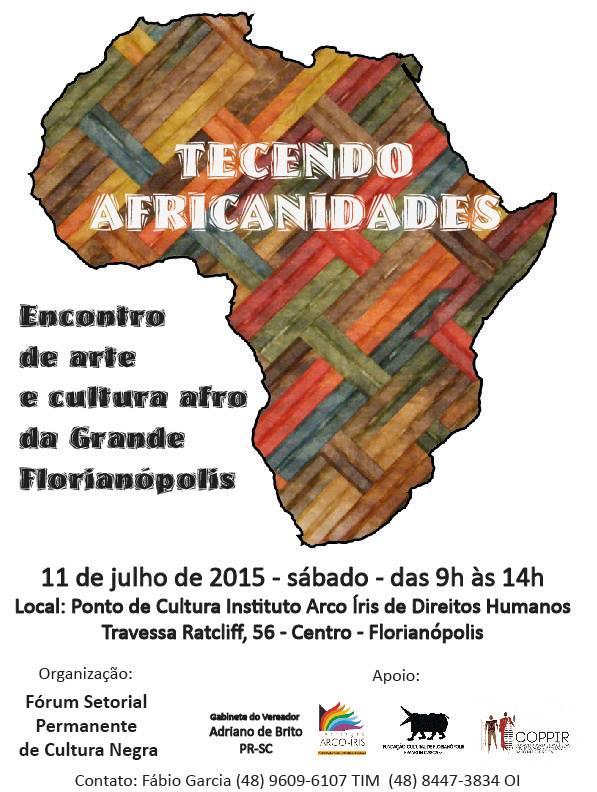 2ª edição do Tecendo Africanidades - encontro de arte e cultura afro