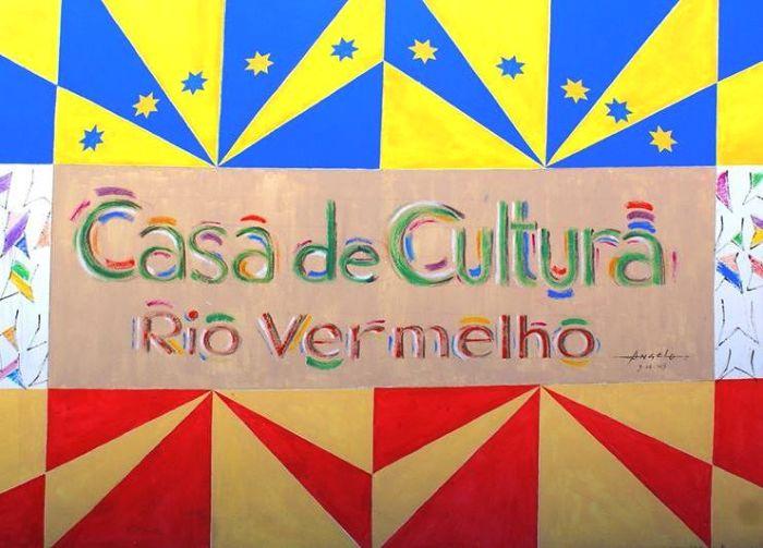 Agenda de atividades gratuitas da Casa de Cultura Rio Vermelho