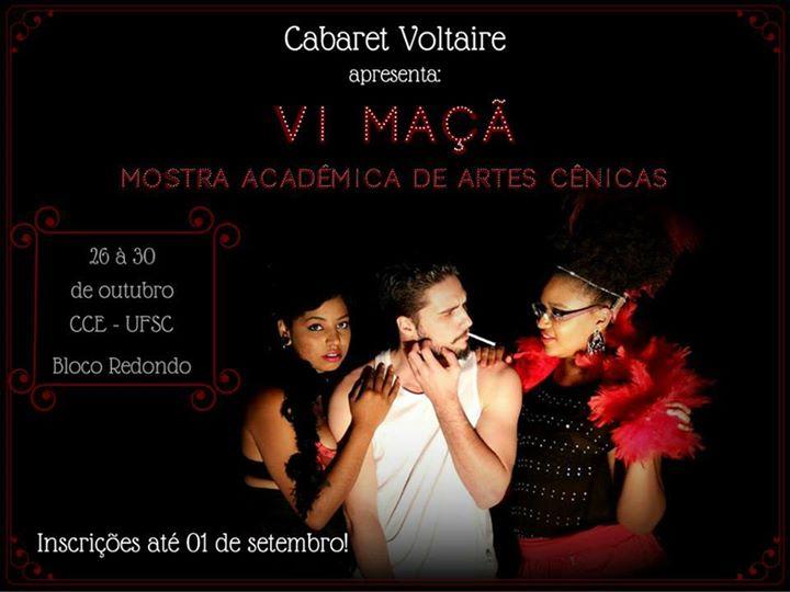 VI MAÇÃ - Mostra Acadêmica de Artes Cênicas