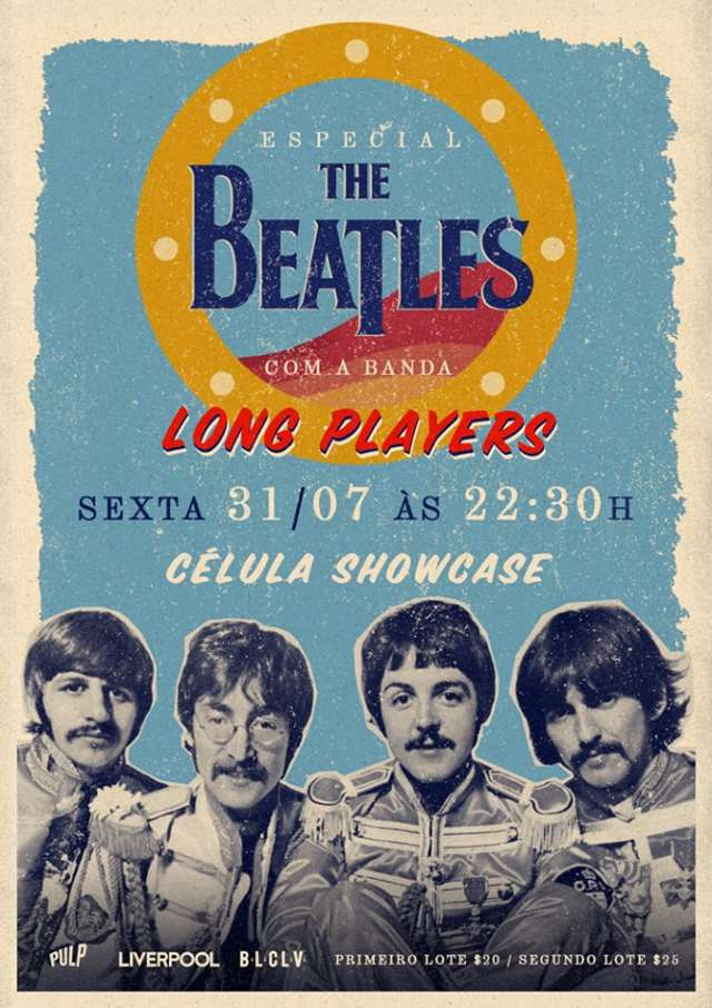 Especial Beatles com a banda Long Players
