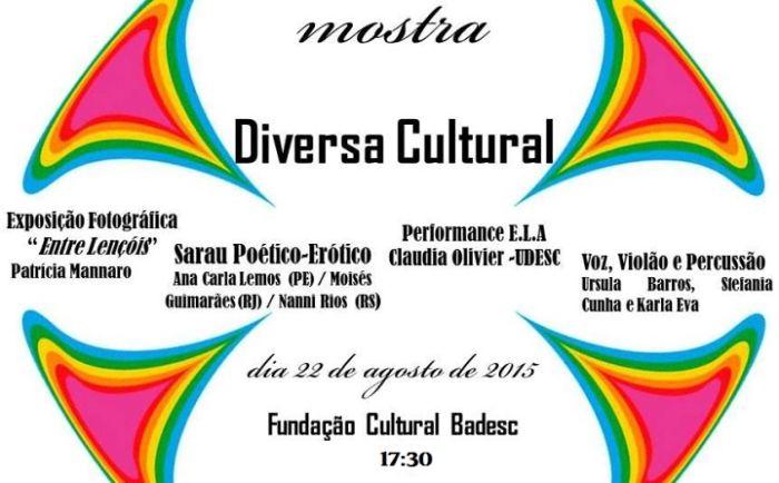 """Primeira mostra artística LGBT """"Diversa Cultural"""""""