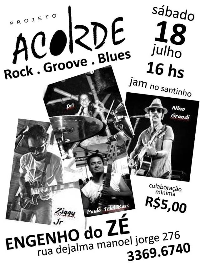Projeto Acorde - rock.groove.blues