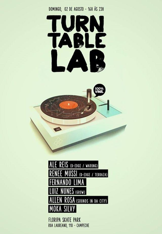 Sounds in da City apresenta Turntable Lab no Campeche
