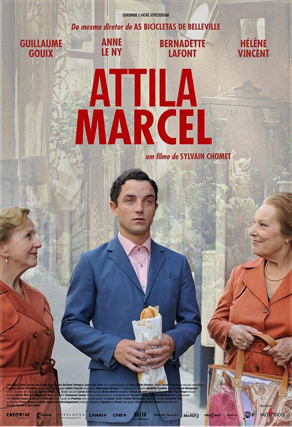 """Cineclube Badesc exibe """"Attila Marcel"""", de Sylvain Chomet"""