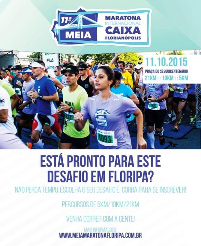 11ª edição da Meia Maratona Internacional Caixa de Florianópolis