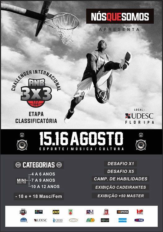 Campeonato NQS 3x3 Etapa Classificatória Challenger Internacional FIBA
