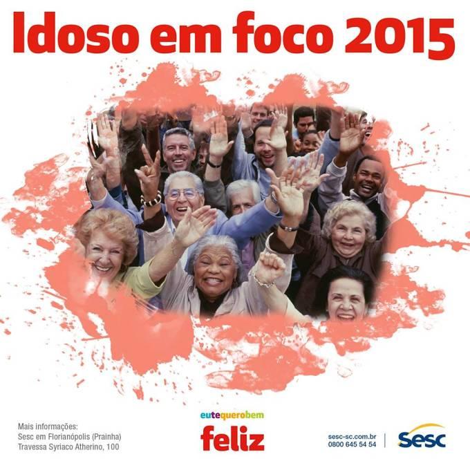 Programação do projeto Idoso em Foco 2015