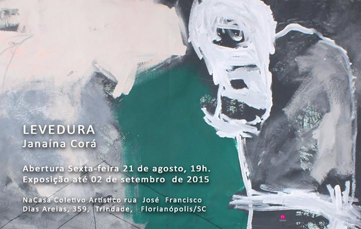"""Exposição """"Levedura"""" de Janaína Corá"""