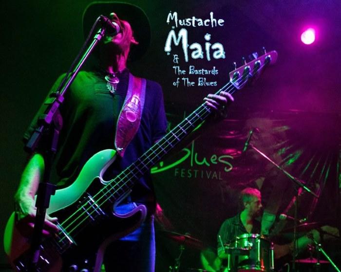 Apresentação gratuita do músico Mustache Maia no Projeto 12:30