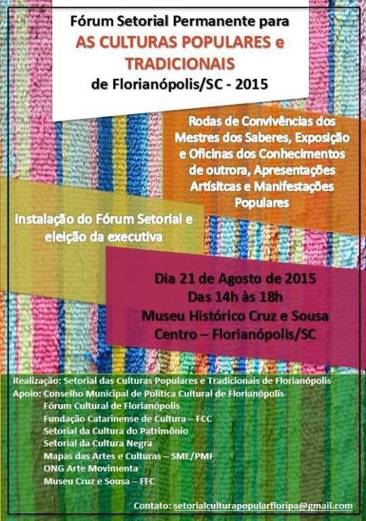 Fórum Setorial Permanente para as Culturas Populares e Tradicionais de Florianópolis
