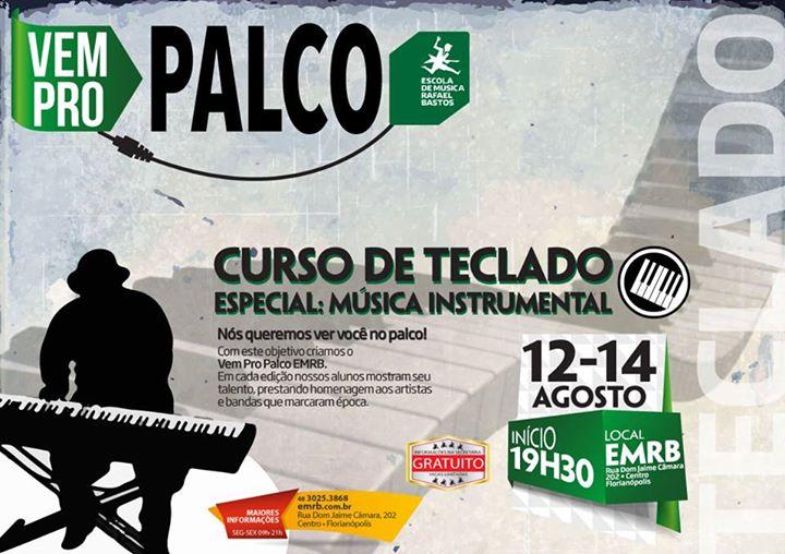 """""""VEM PRO PALCO EMRB"""" com alunos da Escola de Música Rafael Bastos - EMRB"""