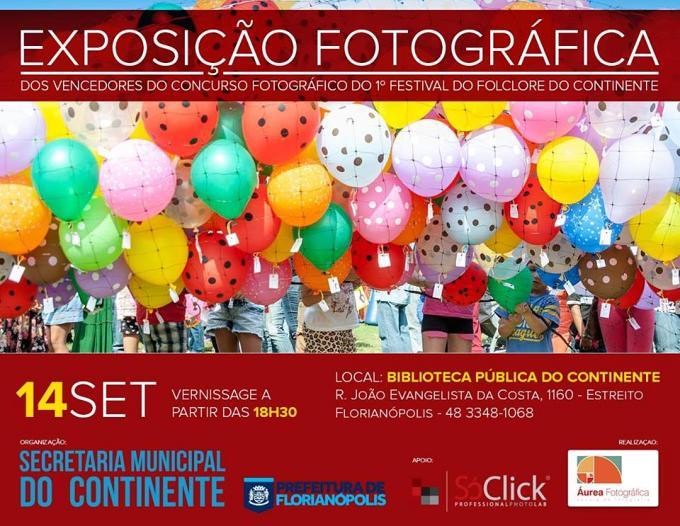 Exposição do Concurso Fotografico do 1º Festival do Folclore do Continente